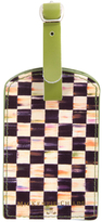 Mackenzie Childs Courtly Check Luggage Tag