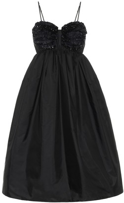 MONCLER GENIUS 4 MONCLER SIMONE ROCHA embellished dress