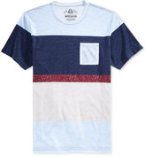 American Rag Men's Bold Variegated Stripe T-Shirt, Only at Macy's