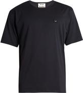 Acne Studios Niagra face-patch cotton T-shirt