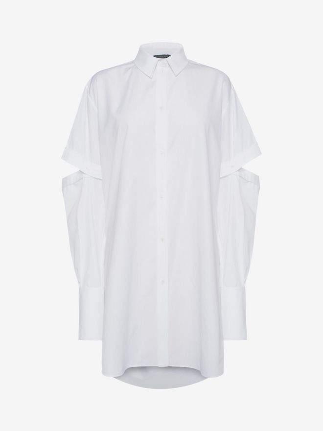 Alexander McQueen Oversized Poplin Shirt