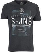 Smith & Jones Men's Plastersque T-Shirt - Charcoal Marl