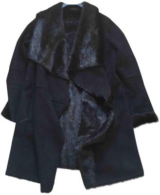 Liu Jo Liu.jo Black Faux fur Coat for Women