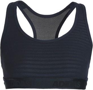 adidas Mesh-paneled Stretch-jersey Sports Bra