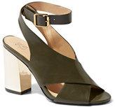 New York & Co. Mirror-Heel Slingback Sandal