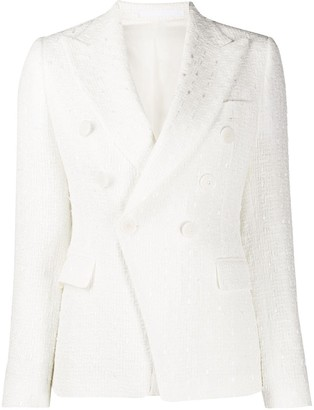 Tagliatore Alicya textured blazer