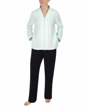 Miss Elaine Brushed-Back Terry Bed Jacket