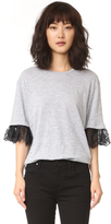 DSQUARED2 T-Shirt with Lace Detail