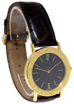 Bulgari BB 33 GL Bvlgari Bvlgari 18K Yellow Gold Quartz Unisex 33mm Watch