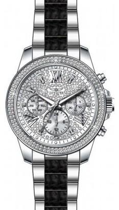 Invicta Women's Angel 20510 Silver Stainless-Steel Swiss Quartz Fashion Watch