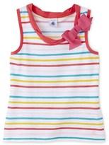 Petit Bateau Girls striped camisole top