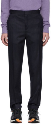 Harmony Navy Striped Tennis Trousers