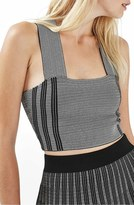 Topshop Stripe Crop Top