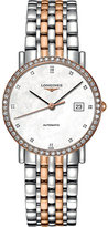 Longines L4.809.5.88.7 Elegant rose gold and diamond watch