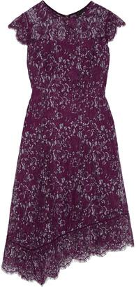 Donna Karan Asymmetric Lace Dress