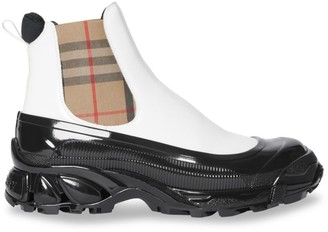 Burberry GH3 Rubber Ankle Boots
