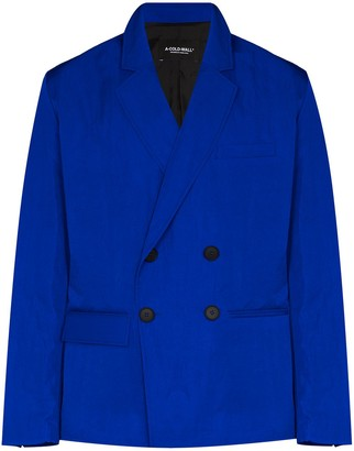 A-Cold-Wall* Double-Breasted Blazer Jacket