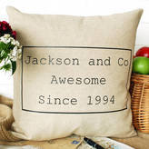 Bags Not War Awesome Family Cushion
