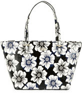 Kate Spade Mini Harmony Floral Leather Tote