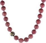 Yossi Harari Libra Pink Beaded Necklace