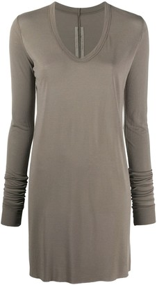 Rick Owens Long Sleeve Tunic Top