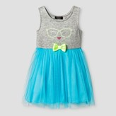 Zenzi Toddler Girls' Sleeveless A Line Dress - Turquoise