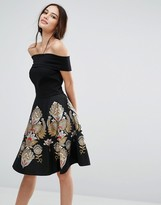 Ted Baker Opulent Bardot Dress