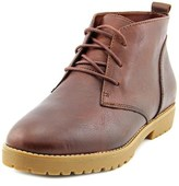 Lauren Ralph Lauren Malva Women Round Toe Leather Chukka Boot.