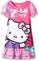 "Hello Kitty Little Girls' Toddler ""Tie-Dye Kitty"" Nightgown"