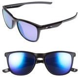 Oakley Women's Trillbe X 52Mm Polarized Sunglasses - Black Ink/ Violet Iridium P