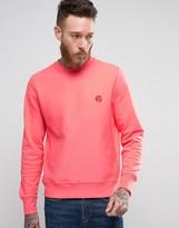 Paul Smith Crew Sweatshirt PS Logo in Pink