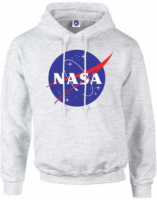 Brands In Limited Girl's NASA Classic Insignia Logo Hoodie