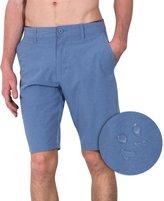 Burnside Mens Dual Lightweight Hybrid Stretch Boardshort Shorts