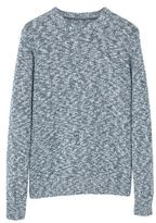 Flecked Cotton-blend Sweater