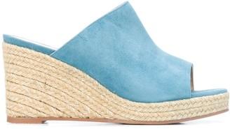 Stuart Weitzman Marabella suede wedge sandals