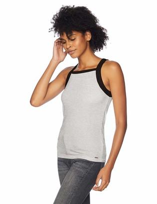Volcom Junior's Lil Fitted Rib Basics Tank top Shirt