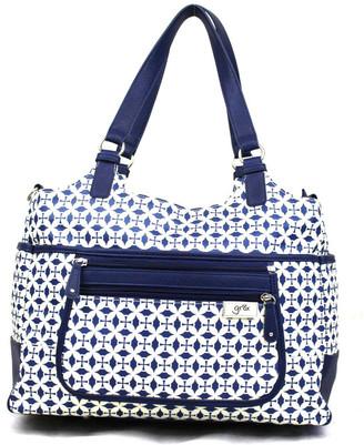 Gr8x Charlotte Tote Baby Bag Blue