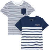 Mayoral Pack of 2 striped tops
