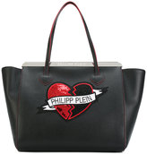 Philipp Plein Editha tote - women - Calf Leather/Polyester/Crystal/metal - One Size