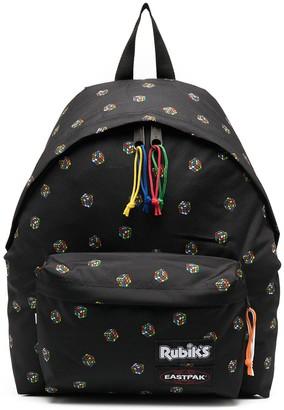 Eastpak Rubiks logo backpack