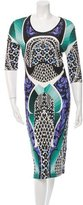 Peter Pilotto Digital Printed Midi Dress