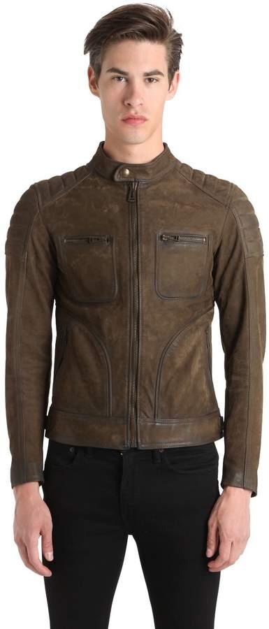 Belstaff Weybridge Waxed Leather Jacket