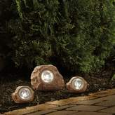 Bed Bath & Beyond Solar Rock Landscaping Spotlights (Set of 3)
