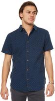 Globe Iris Ss Mens Shirt Blue