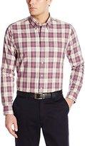 Cutter & Buck Men's Long Sleeve Lupine Plaid Shirt