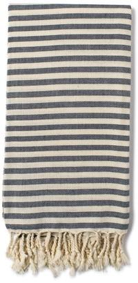 Luks Linen - Cream/Denim Turkish Cemile Hamman - cotton | denim blue