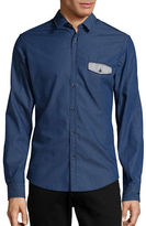 BOSS GREEN Bagata Circle Point Collar Sportshirt