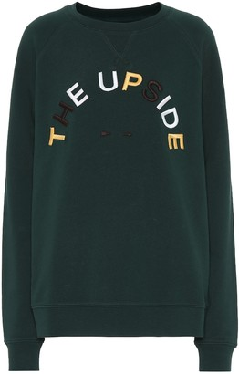 The Upside Horseshoe Sid cotton sweatshirt