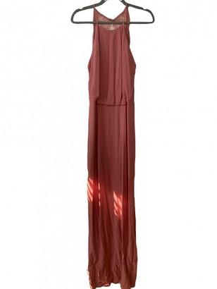 Samsoe & Samsoe Pink Cotton Dress for Women