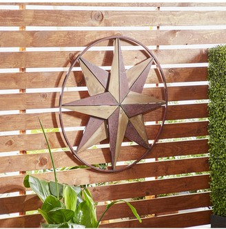 Uma Brown Farmhouse Star Wall Decor